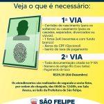 Emissão de carteira de identidade